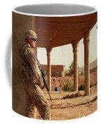 U.s. Army Soldier Pulls Security Coffee Mug