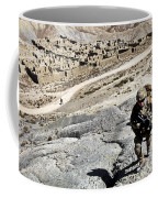 U.s. Army Soldiers And Afghan Border Coffee Mug