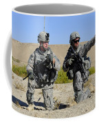 U.s. Army Soldiers Familiarize Coffee Mug