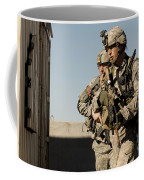 U.s. Army Soldiers Search A Site Coffee Mug