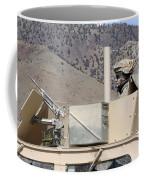 U.s. Army Specialist Scans His Sector Coffee Mug