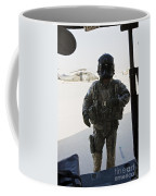 U.s. Army Uh-60l Loadmaster Confirms Coffee Mug