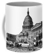 U.s. Capitol, 1884 Coffee Mug