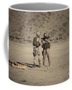 U.s. Contractor Firing An Automatic Coffee Mug