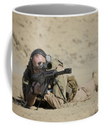 U.s. Contractor Sights In A Barrett Coffee Mug