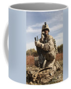U.s. Marine Communicates Coffee Mug