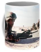 U.s. Marine Guards The Camp Perimeter Coffee Mug