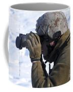 U.s. Marine Looks Coffee Mug