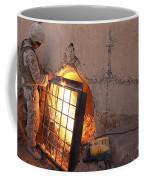 U.s. Marine Places A Cage Coffee Mug