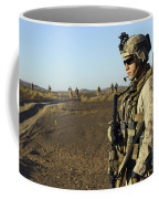 U.s. Marine Posts Security Coffee Mug