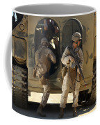 U.s. Marines Climb Into The Back Of An Coffee Mug