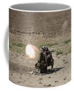 U.s. Marines Fire A Rocket-propelled Coffee Mug