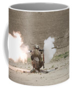 U.s. Marines Fire A Rpg-7 Grenade Coffee Mug