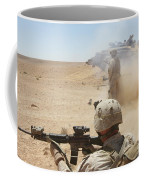 U.s. Marines Fire Several Coffee Mug