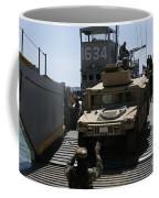 U.s. Marines Load An M1114 Humvee Onto Coffee Mug