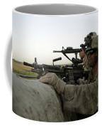 U.s. Marines Observe The Movement Coffee Mug by Stocktrek Images