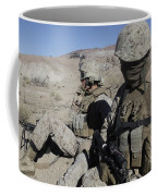 U.s. Marines Take A Break Coffee Mug