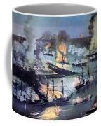 U.s. Navy Destroys Rebel Gunboats Coffee Mug