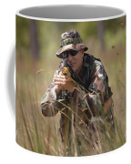U.s. Navy Diver Engages The Target Coffee Mug