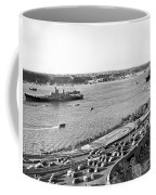 U.s. Navy In The Hudson River Coffee Mug