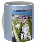 U.s. Navy Sailors Attend An Coffee Mug