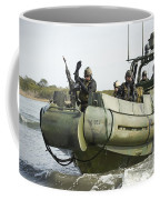 U.s. Navy Sailors Conduct A Hot Coffee Mug