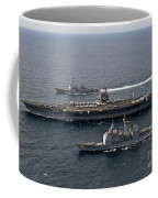 U.s. Navy Ships Transit The Atlantic Coffee Mug