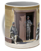 U.s. Soldiers On Guard At Fort Irwin Coffee Mug