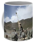 U.s. Soldiers Prepare To Fire Coffee Mug