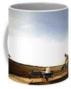 U.s. Soldiers Prepare To Move An Rq-7 Coffee Mug