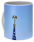 Usa Flag Top Coffee Mug