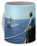 Uscgc Thetis Approaches A German Combat Coffee Mug