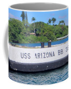 Uss Arizona Bb 39 Marker Coffee Mug
