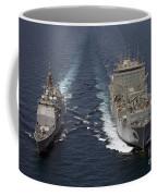 Uss Cape St. George Pulls Alongside Coffee Mug