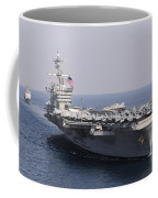 Uss Carl Vinson And Uss Bunker Hill Coffee Mug
