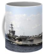 Uss Carl Vinson Underway In The Arabian Coffee Mug