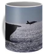 U.s.s. Coral Sea Aircraft Carrier Coffee Mug