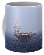 Uss Enterprise In The Arabian Sea Coffee Mug