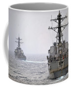 Uss Porter And Uss Nitze Participate Coffee Mug