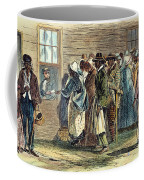 Va: Freedmens Bureau 1866 Coffee Mug by Granger