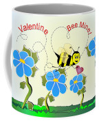 Valentine Bee Mine Coffee Mug