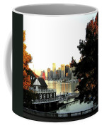 Vancouver At Sundown Coffee Mug by Will Borden