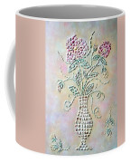 Vase With Flowers Coffee Mug
