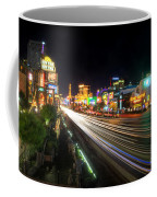 Vegas Light Trails Coffee Mug