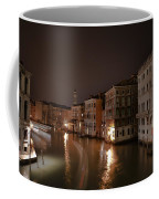 Venice By Night Coffee Mug by Joana Kruse