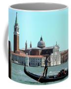 Venice From A Gandola Coffee Mug