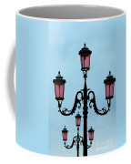 Venitian Lamp Posts Venice Italy Coffee Mug