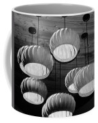 Vented Lights In Black And White Coffee Mug