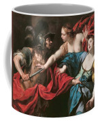 Venus Preventing Her Son Aeneas From Killing Helen Of Troy Coffee Mug