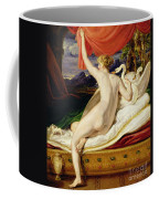 Venus Rising From Her Couch Coffee Mug